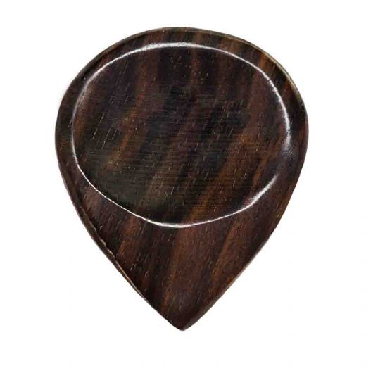 Groove Tones (old design) African Ebony 1 Guitar Pick